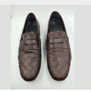 Gucci Guccissima Interlocking G Signature Loafers